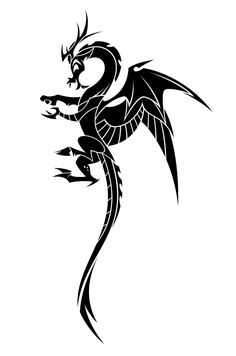 Discord Tattoo (BW) by Hexfloog on DeviantArt