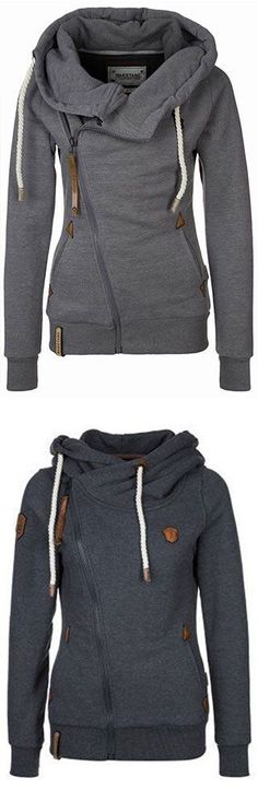 Traveler side zipper sweater
