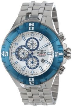 Men's Wrist Watches - Invicta Mens Pro Diver XXL Quartz Chronograph Stainless Steel Bracelet Watch 12363 ** Learn more by visiting the image link.