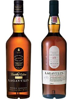 Lagavulin Distillers Edition & 12 Year Old Single Malt Scotch Whisky
