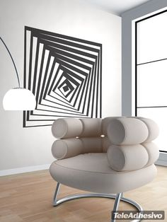 Vinilo decorativo Vasarely 3 Más