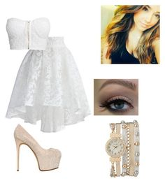 """""""going to a party with Becky G"""" by madison-beer-fan ❤ liked on Polyvore"""