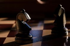 A friendly, but slightly boring game of chess. Oh well, at least it would kill some time.