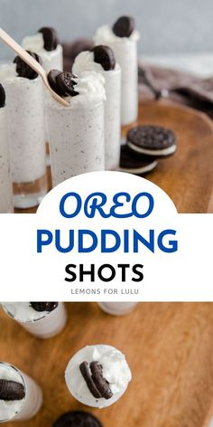 Pudding doesn't have to be boring! These creamy Oreo pudding shots have sweet bits of cookie pieces and booze to make them extra special! It is always a party when the pudding shots are present!