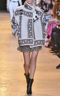 Isabel Marant Fall/Winter 2015 Trunkshow Look 1 on Moda Operandi