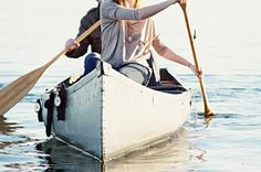 the perfect morning: sunrise, a canoe, someone you love, and a great outfit :)