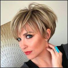 Tolle Kurze haare | Frisuren | Pinterest | Kurze haare, Haar und ... | Einfache Frisuren
