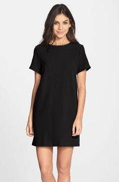 $88, Nordstrom Felicity Coco Crepe Shift Dress. Sold by Nordstrom. Click for more info: https://lookastic.com/women/shop_items/245635/redirect