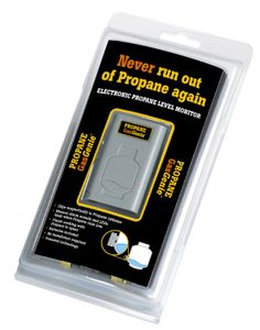 The only device that actively warns when your Propane Tank is running low.