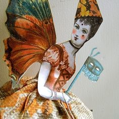 Halloween Fairy Paper Doll
