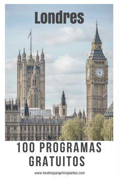 100 programas para você fazer em Londres sem gastar nenhuma libra.