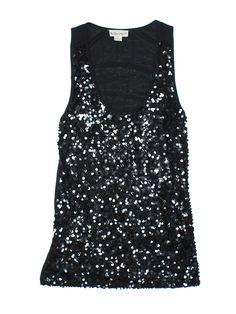 Pink Zone Sleeveless Top: Size 12.00 Black Women's Tops - $4.99