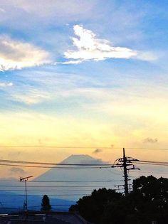 Mt.Fuji 富士山 7/31/2014 (Shizuoka Japan 静岡県裾野市)