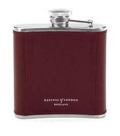 Gifts: Small Accessories Aspinal of London Classic 5oz Leather Hip Flask