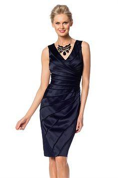 Women's Dresses - Grace Hill Panelled Dress