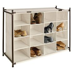 Buy the Eco - 16 Cubby Shoe Rack  online from Takealot. Many ways to pay. Eligible for Cash on Delivery. Hassle-Free Exchanges & Returns for 30 Days. 1 Year Limited Warranty. We offer fast, reliable delivery to your door.