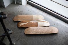 Laser Etched Skate Decks