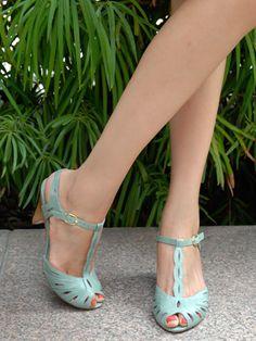e45440b32 Seychelles Footwear blue t-strap heels Aqua Shoes, Turquoise Sandals, Mint  Sandals,