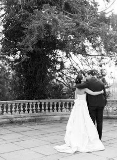 Elegant spring wedding by, Lindsay Madden Photography // Dress by, Romona Keveza