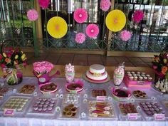 Candy buffet de cumpleaños. #candy buffet, #cumpleaños, #birthday
