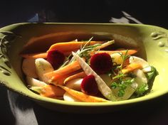 Parsnips, carrots and beets.