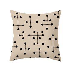 Dot Savvy Pillow in Cream - Dot & Bo
