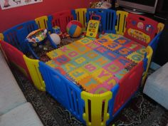 Used Play Yards | The new 2 sets of play yard