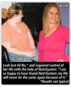 Nutrisystem recipes makeovers before and after