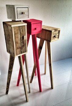 Trashforming: buen diseño pensado para #upcycle maderas.