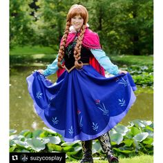 N78 Movies princess ANNA Cosplay Costume Dress tailor made kid adult with full circle skirt This is included vest(C60), shirt (top25), skirt (j78n, full skirt). Cape and hat are options, you can choose by yours.  This is custom made size item, please write your measurement in order note 1. bust 2. waist 3. hip