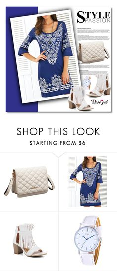 """""""ROSEGAL!"""" by jenny007-281 ❤ liked on Polyvore featuring Summer and polyvoreeditorial"""