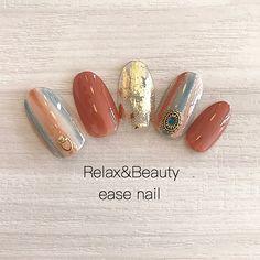 Pin by yumi hara on ネイル in 2020 Japanese Nail Design, Japanese Nails, Asian Nails, Luv Nails, Crackle Nails, Nail Ring, Cute Acrylic Nails, Toe Nail Designs, Creative Nails