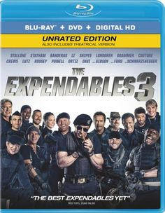 The Expendables 3 [Blu-ray] #theexpendables3bluray #arnoldschwarzenegger