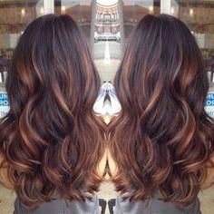 30 Penteados de tendência de Cor para 2015 8
