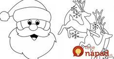 Nemáte ešte vianočnú ozdobu na okná? S týmito šablónami ju vyrobíte za pár minút! Snoopy, Fictional Characters, Fantasy Characters