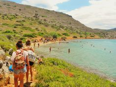Hersonissos, Crete - a perfect girl's chilled holiday destination on While I'm Young and Skinny