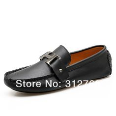 Casual Leather Loafer Shoes for Men Shop the best handmade shoes at http://www.tuccipolo.com