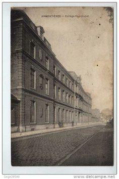 Collège communal devenu le Lycée Paul Hazard
