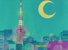 Sailor Moon background art