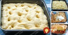 Šialene chutný koláčik z kysnutého cesta – šťavnatý, voňavý a mäkučký. Moja babička ho tiež zvykla volať cukrový koláč. Quick Recipes, Cake Recipes, Cooking Recipes, Czech Recipes, Ethnic Recipes, Sweet Cooking, Sweet Desserts, Bread Baking, Macaroni And Cheese