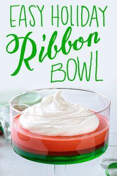 Our Easy Holiday Ribbon Bowl deserves a blue ribbon. See for yourself.