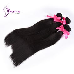 Find More Human Hair Extensions Information about KUNNA cheap brazilian virgin…