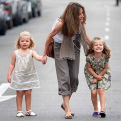 Mommy-daughter(s) date! The Princesses strolled the streets of Palma with mom Letizia during the 2010 Copa Del Rey regatta. Photo: ARROW PRESS EMPICS Entertainment