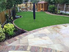 Floral & Hardy specialise in all elements of Garden Design and Landscaping services. View our client Gallery for your own garden design inspiration. Back Garden Design, Garden Design Plans, Backyard Garden Design, Garden Landscape Design, Landscape Designs, Garden Bar, Patio Design, Front Gardens, Small Gardens