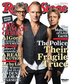 Rolling Stone Magazine Covers | Rolling Stone Cover - the-police Photo