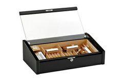 Cave à cigares - Adorini Vega Deluxe Noire