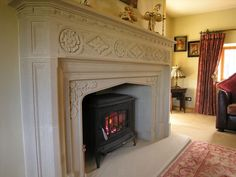 Templestone British made bespoke and standard fireplace designs, Architectural Natural stone features and Fireplaces, Free site visits, Bruton, Somerset Natural Stone Fireplaces, Marble Fireplaces, Fireplace Mantle, Fireplace Design, Fireplace Ideas, Marble Fire Surround, Stone Masonry, Backyard Paradise, Interior Inspiration