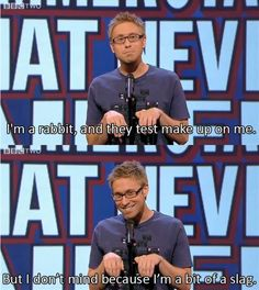 russell howard the rabbit is a slag.