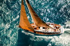 sailing + wake
