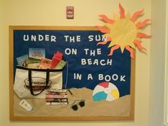 Summer library display